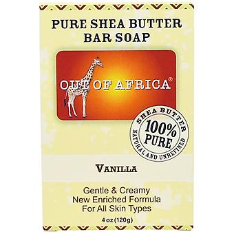 Out of Africa Pure Shea Butter Bar Soap Vanilla 2 Bar Pack