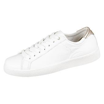 Chaussures femmes universel Tamaris Blanc Rose métallique Mix Leder pailletes 12363120154