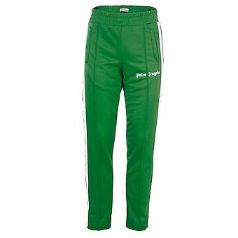 Palm Angels men's PMCA0073840084101 green polyester joggers