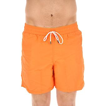 Ralph Lauren Herren 710683997015 Orange Polyester Badeboxer