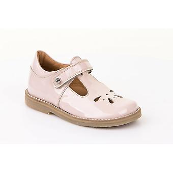 Froddo G3140067-2 Soft Pink Patent Leather T-Bar Shoes