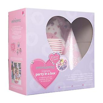 Miniamo Fluttercup - Party in a Box - Includes Party Bags Table Cover and More