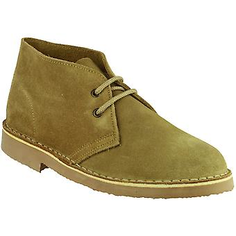 Cotswold Mens Sahara Suede Leather Casual Supported Heel Desert Boots