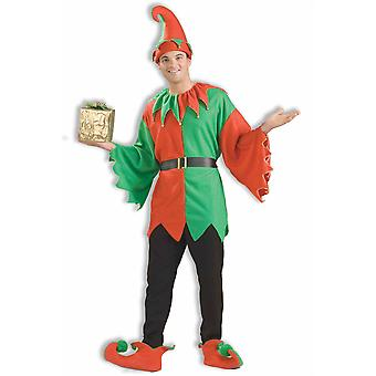 Santa's Helper Elf Santa Claus Deluxe Christmas Unisex Women Mens Costume STD