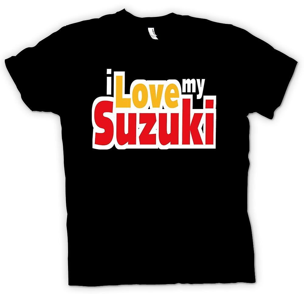 Womens T-shirt - I Love My Suzuki - Car Enthusiast