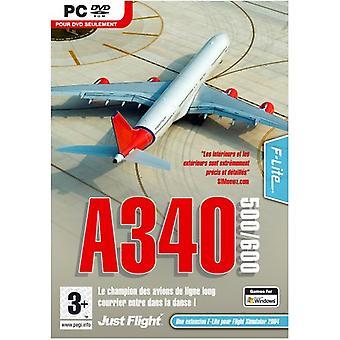 A340-500600 udvidelsespakke til FS2004FSX (PC DVD)