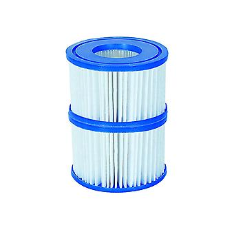 Filter Cartridge VI for Lay-Z-Spa Miami, Vegas, Monaco 12 x Twin Pack