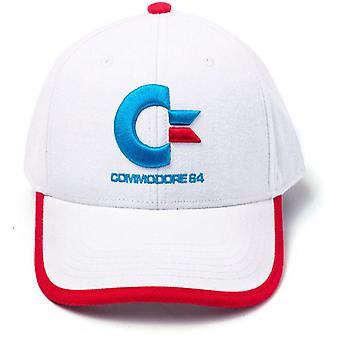 Commodore 64 logotipo curvo Bill Cap, multi cor (BA757740C64)