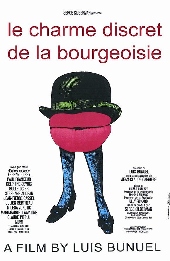 The Discreet Charm of the Bourgeoisie Movie Poster (11 x 17)
