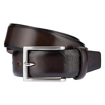 LLOYD Men's belt belts men's belts leather belt Brown 2601