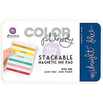 Prima Marketing Color Philosophy Dye Ink Pad-Midnight Blue