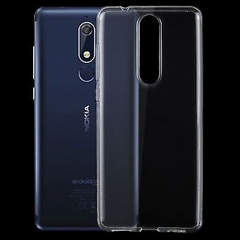 Silikoncase transparent ultra thin case for Nokia 5.1 2018 bag cover protection