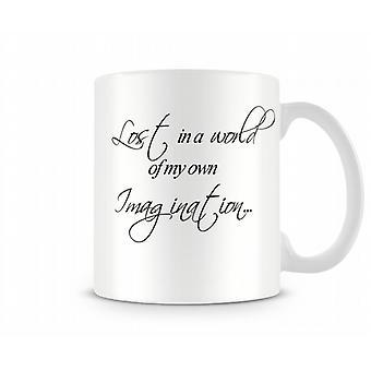 Lost World Imagination Printed Mug