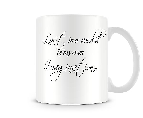 Lost World Imagination Printed Mug
