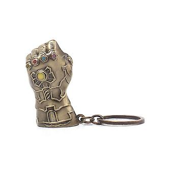 Difuzed Avengers Infinity War Metal Keychain Thanos Fist 7cm Marvel Keyrings
