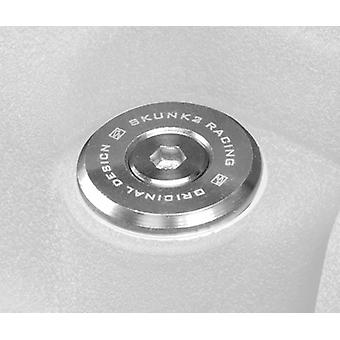 Skunk2 649-05-0110 Valve Cover Washer, Clear Anodized