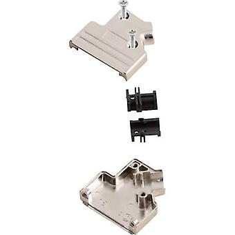 D-SUB housing Number of pins: 37 Metal 45 ° Silver MH Connectors MHDVSL37-K 1 pc(s)