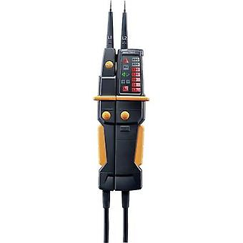 testo 750-3 Two-pole voltage tester CAT IV 600 V, CAT III 1000 V LED, LCD Manufacturers standards (no certificate)