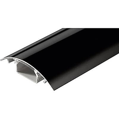 Alunovo SC90-025 Cable duct (L x W x H) 250 x 80 x 20 mm 1 pc(s) Black (glossy)