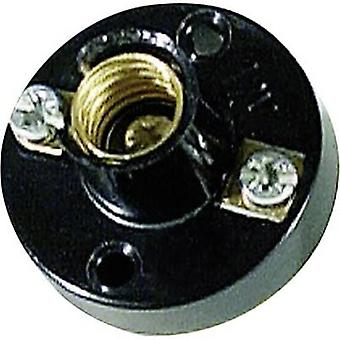 Bulb holder Socket (mini bulbs): E14 Connection: Screw terminal Barthelme 1 pc(s)