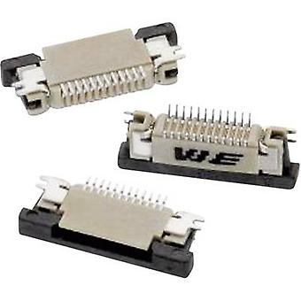 Würth Elektronik Receptacles (standard) ZIF FPC Total number of pins 8 Contact spacing: 0.50 mm 68710814522 1 pc(s)