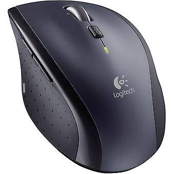 Logitech M705 Wireless Mouse ergonomische Laser Schwarz/Silber