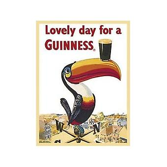 Guinness Weather Vane Steel Fridge Magnet
