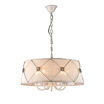 Maytoni Lighting Lea Elegant Pendant, White Gold