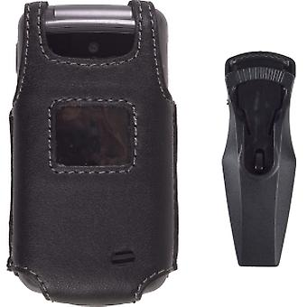 Wireless Solution Premium Swivel Belt Clip Leather Case for LG VX5500