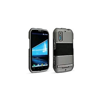 Technocel Accent Shield Cover for Motorola Photon 4G MB855 - Gray