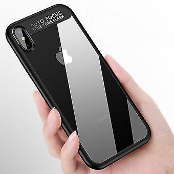 Ultra Slim Case für Apple iPhone XS Handyhülle Schutz Cover Schwarz
