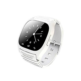 Stuff Certified ® Original M26 Smartphone Watch OLED SmartWatch Android iOS White