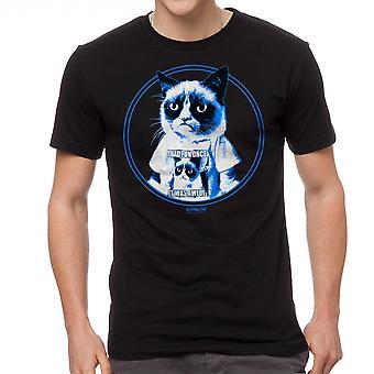 Grumpy Cat Grumpy In Shirt Men's Black Funny T-shirt