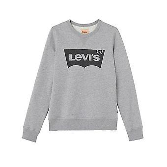 Levis® Levi crianças crianças moletom cinza do Batwing