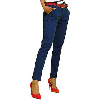 Outdoor Look Womens Milo Classic Casual Soft Chino Trousers