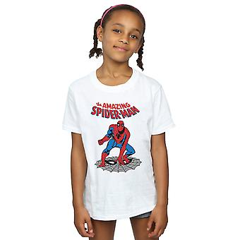 Marvel Girls The Amazing Spider-Man T-Shirt