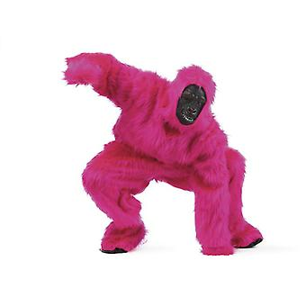 Pink Gorialla men's costume Menscheaffe monkey men costume