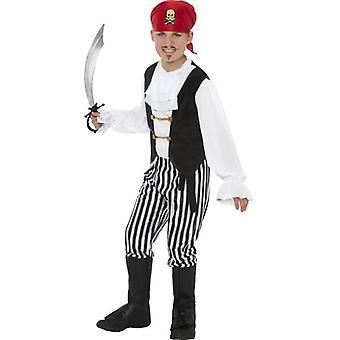 Pirate Costume, BOYS Large Age 9-12