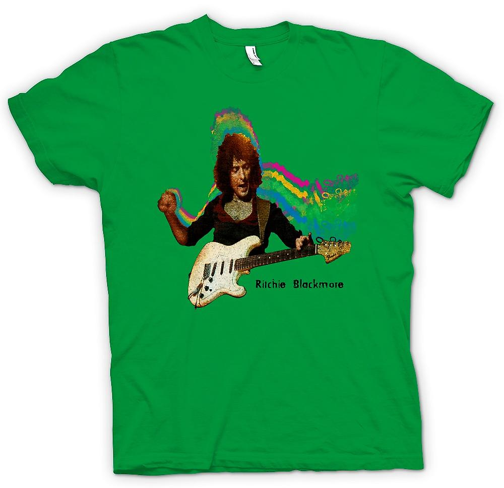 Mens T-shirt - Richie Blackmore - Guitar Rock Gud