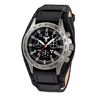 KHS watches mens watch platoon titanium chronograph KHS. PTC. R