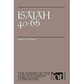 Isaiah 40-66 (The Forms of the Old Testament Literature)