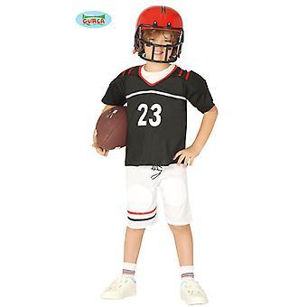 Quarterback football player costume for Kids Carnival athletes