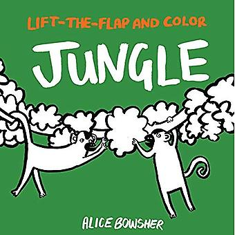 Lift-The-Flap and Color: Jungle (Lift-The-Flap and Color)