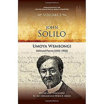John Solilo: Umoya Wembongi Collected Poems (1922-1935) (publicaties van de collectie van Opland Xhosa literatuur)
