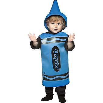 Blue Crayola Toddler Costume
