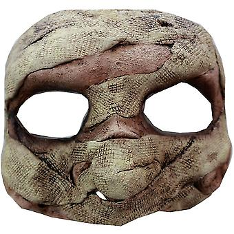 Mumien Latex halv maske For Halloween