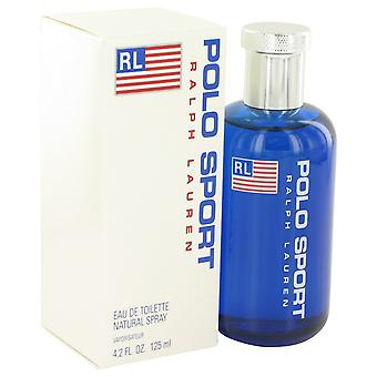 POLO SPORT by Ralph Lauren Eau De Toilette Spray 4.2 oz / 125 ml (Men)