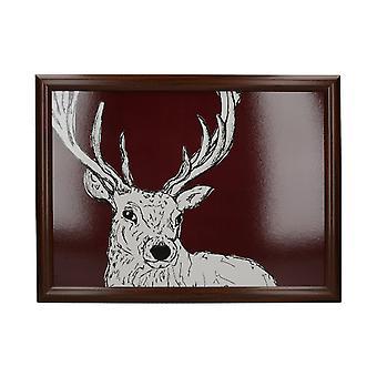 Lap Cushion Wild Deer