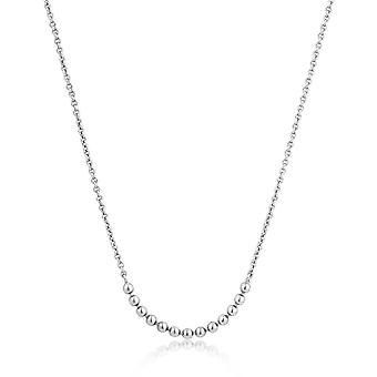Ania Haie Sterling Silver 'Modern Minimalism' Multi Ball Necklace