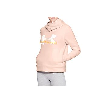 Under Armour Rival Fleece Logo Hoodie 1321185-805 Damen Sweatshirt